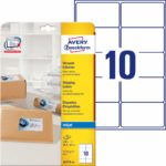 Avery Self Adhesive Address Mailing Labels