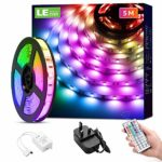 LE 5M LED Strip Lights with Remote