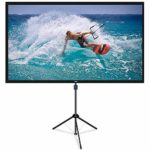 NAQIER Projector Screen with Tripod Stand