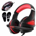 Gaming Headset and RGB Mouse Combo