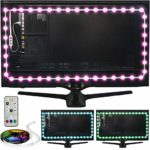 Luminoodle Color Bias Lighting - Small - 15 Color LED Strip Lights with Remote - USB Powered TV Light