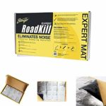 "STINGER""Roadkill Expert Bulk Pack (9 pieces) sized 18"""" x 32"""" - 36Sq ft - Sound Damping Material - Self Adhesive Rubber/Aluminium - Easy cut and apply installation"""