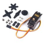 SUNFOUNDER Metal Gear Digital RC Servo Motor High Torque for Helicopter Car Boat Robot Arduino AVR Toys Drone Fix-Wing Airplane