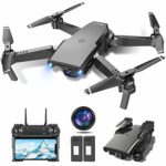 tech rc Drone with Camera 1080P HD Foldable Optical Flow RC Quadcopter