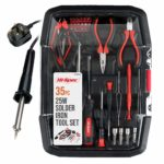 Hi-Spec 35 Piece All-In-One Soldering and Electronics Repair Kit with Adjustable Temperature 25W Soldering Iron