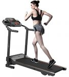 Evolve B1 Motorized Electric treadmill 3 level manual inclination & Foldable running machine with 12 programs - Bluetooth