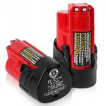 2PACK DSANKE M12 12V 3.0Ah Li-ion Replacement for Milwaukee M12 Battery