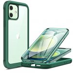 Miracase Glass Case Compatible with iPhone 12/12 Pro