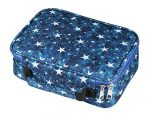 WINSHEA Pencil Case 72 Slots Large Capacity Pencil Holder Wrap Pouch Bag Coloring Pencils Organizer for Student Boys Girls and Artists (Dark Blue)