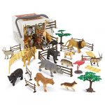 Terra by Battat – Jungle World – Assorted Miniature Jungle Animal Toy Figures For Kids 3+ (60Pc)
