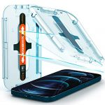 Spigen EZ Fit Tempered Glass Screen Protector for iPhone 12 Pro Max - 2 Pack
