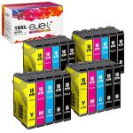 ejet Compatible 18XL Ink Cartridges Replacement for Epson 18 XL for Expression Home XP322 XP215 XP205 XP225 XP305 XP325 XP422 XP405 XP415 XP425 XP315 XP312 XP425 (Black Cyan Magenta Yellow