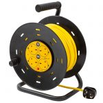 Extension Lead 50m Heavy Duty Cable Reel
