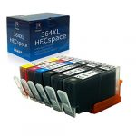 HECspace 364 Cartridges Replacement for HP 364XL Ink Cartridges Compatible for HP Photosmart 5510 5520 5522 5524 6520 7520 b8550 b209a b110a c309 3520