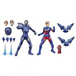 Hasbro Marvel Legends Series 6-inch Scale Action Figure Toy Captain Marvel and Rescue Armor 2-Pack